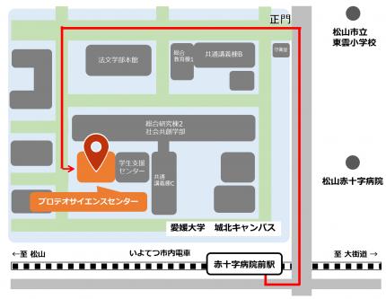 access matsuyama map2