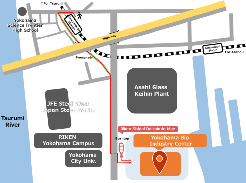 access yokohama map en